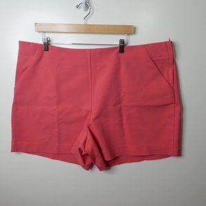 Maurices Pink Shorts Women's Plus Size 24